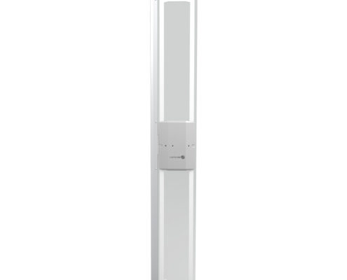 AM EAS system with a slim profile.